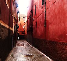 Alleyway of Dreams - Morocco by Katlyn Novitski