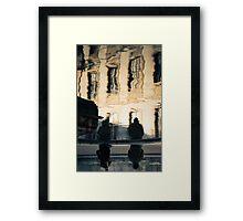 Windows Reflections - Arles, France - 2010 Framed Print