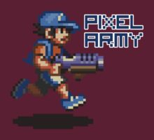 Pixel army by pablocomics