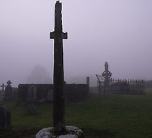 Kilkieran High Cross,[Unique in Ireland] Co.Kilkenny A3.. by Pat Duggan