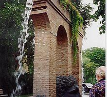 Fontaine Janus, Strasbourg, Alsace by BronReid