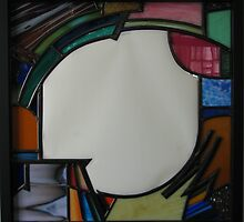 Square Mirror No 1 by Jeffrey Hamilton