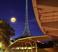 The Spire and the Moon by David  Hibberd