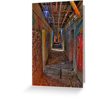 The way out of the Asylum Greeting Card