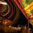 fairground at night in Sydney by ccsad