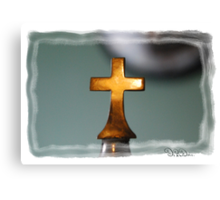 The Cross Has Said It All: Limited Edition... Canvas Print