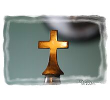 The Cross Has Said It All: Limited Edition... Photographic Print