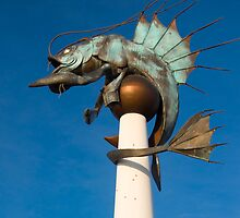 The Barbican Prawn: Plymouth Barbican UK by DonDavisUK