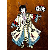 Asian Paper Doll Photographic Print