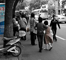street moves one afternoon in China by marcwellman2000
