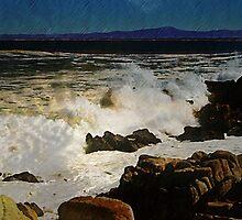 The Ocean of the Beach by Karirose