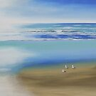 """ White Light Beach 2"" Bayview by Taniakay"