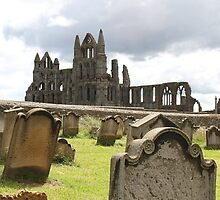 Whitby Abbey from St. Mary's Churchyard by Nick Barker