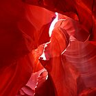 Slot Canyon Top by Tim Scullion