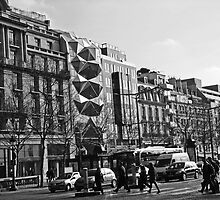 Architecture On The Champs Elysees by Al Bourassa