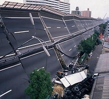 Earth quake (1), 1995  KOBE  JAPAN by yoshiaki nagashima