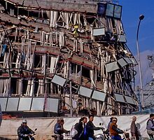 Earth quake (5), 1995  KOBE  JAPAN by yoshiaki nagashima