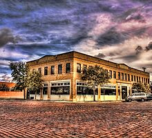 The Building On The Corner by Paul Hailes