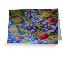 Daisies and Tulips Greeting Card