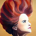 Paloma Faith oil painting by CSSART