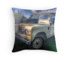 Landrover Throw Pillow