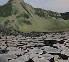 The Giants Causeway by Rosetta Jallow