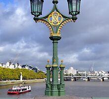 Westminster Bridge London by Pat Herlihy