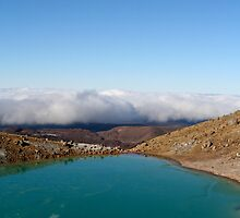 Emerald Lakes - Tongariro Crossing  by emerson