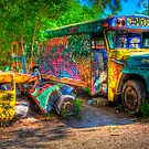 Jimbo&#x27;s Magic Bus (and Squashed Bug, too) by njordphoto