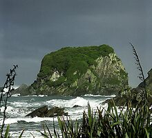 Cape Foulwind - Storm Brewing by redmgb