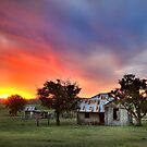 Country Sunset by Annette Blattman