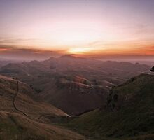sunset in the hills  by chrisblackwell29