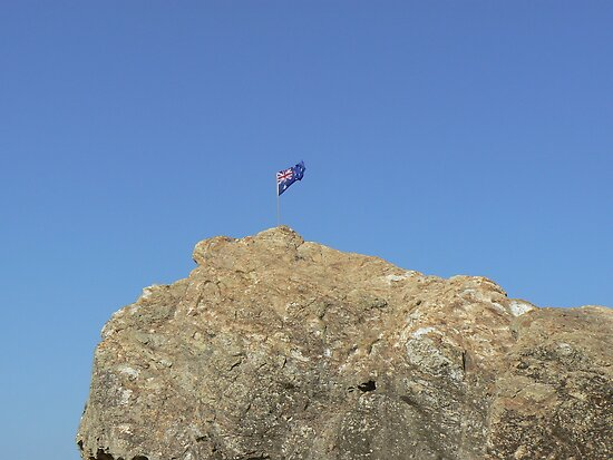 Australia Day Currumbin Beach by Virginia McGowan