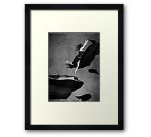 without my wings Framed Print
