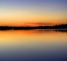 Lakeside Dawn by GerryMac