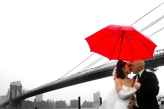 Brooklyn Bridge Wedding Bells II by deahna