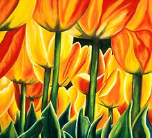 Tiptoe Through the Tulips by Gigi Butterfly Hoeller