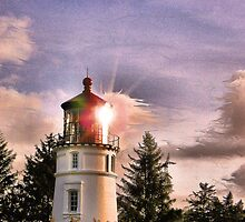 Umpqua River Lighthouse by jeanniechris