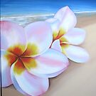 """Frangipani beach"" washed up 2 by Taniakay"