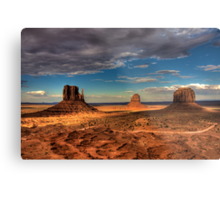 The Mittens of Monument Valley Metal Print