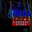 Blues City by Phillip M. Burrow