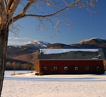 Red Barn by Alana Ranney