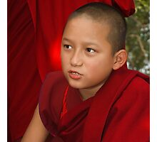 The Confidant Young Monk Photographic Print