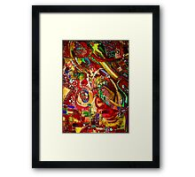 Psychedelic Daydream Framed Print