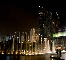 KLCC Fountain  by MiImages
