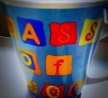 Coffee Cup - Lomo - iPhone by Maria Schlossberg