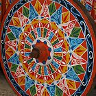Ox Cart Wheel detail, Costa Rica by Guy Tschiderer