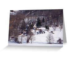 Home in the Catskills Greeting Card