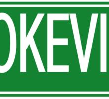 Brokeville POP. F@cked Sticker
