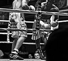 Blue Horizon Boxers 1 by Ed Wheeler